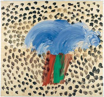 Howard Hodgkin, In Egypt, 2007–08 Oil on wood, 70 ⅞ × 75 ½ inches (180 × 191.8 cm)