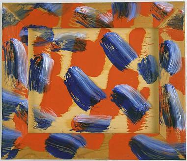 Howard Hodgkin, Hello, 2004–08 Oil on wood, 11 ⅜ × 13 ⅜ inches (28.9 × 34 cm)