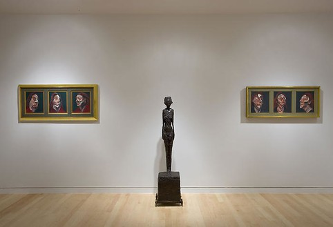 Installation view Artworks © 2008 The Estate of Francis BaconArtworks © 2008 Alberto Giacometti Estate