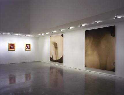 Julian Schnabel: Christ's Last Day Installation view, photo by Douglas M. Parker Studio
