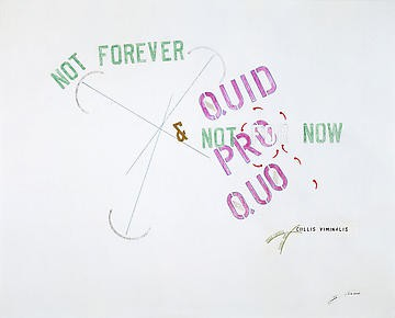 Lawrence Weiner: Quid Pro Quo, Rome