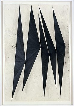 Mark Grotjahn: Dancing Black Butterflies, 980 Madison Avenue, New York
