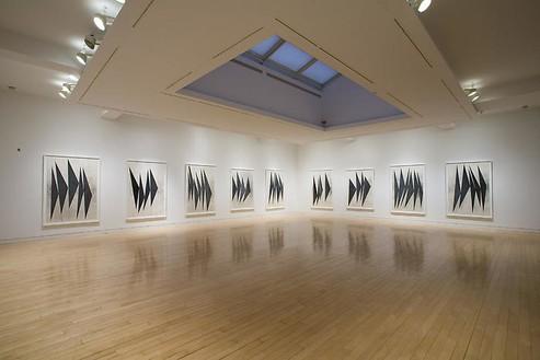 MARC GROTJAHN: Dancing Black Butterflies Installation view
