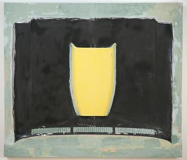 Richard Prince, Dennis Wilson (hood), 2007 Car hood and fiberglass, 65 ½ × 75 ½ inches (166.4 × 191.8 cm)