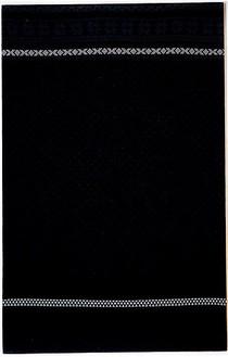 Christopher Wool, Untitled, 1987 ROSEMARIE TROCKEL, 86 ⅝ × 55 ⅞ inches (220 × 142 cm)