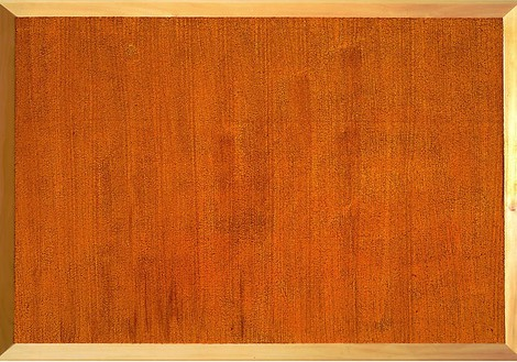 Mike Kelley, Carpet #9, 2003 Acrylic on carpet mounted on wood panel, 52 ½ × 76 ¼ inches (133.4 × 193.7 cm)