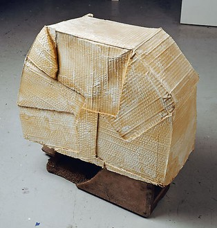 Rachel Whiteread, FOUNDATION, 2007–08 Plaster and bronze, 23 ¼ × 22 ¾ × 9 ¾ inches (59 × 58 × 24.5 cm)