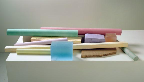 Rachel Whiteread, FELL, 2008 Plaster, pigment, resin, and bronze, 7 × 55 ¼ × 26 ¾ inches (17.5 × 140 × 68 cm)© Rachel Whiteread