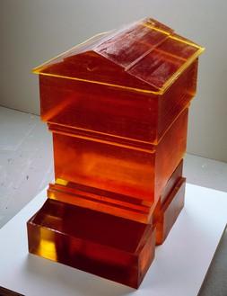 Rachel Whiteread, Untitled (Hive) I, 2007–08 Resin, 32 ⅛ × 19 ⅞ × 25 ⅛ inches (81.6 × 50.6 × 64 cm)© Rachel Whiteread