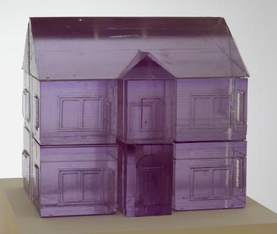 Rachel Whiteread, GHOST, GHOST I, 2008 Polyurethane, 30 ¼ × 34 ¼ × 23 ⅝ inches (77 × 87 × 60 cm)© Rachel Whiteread. Photo: Joshua White