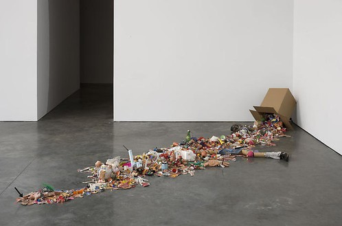 Tom Friedman, Inside Out, 1991–2006 Mixed media, 26 ¼ × 186 × 55 inches (66.7 × 472.4 × 139.7 cm)