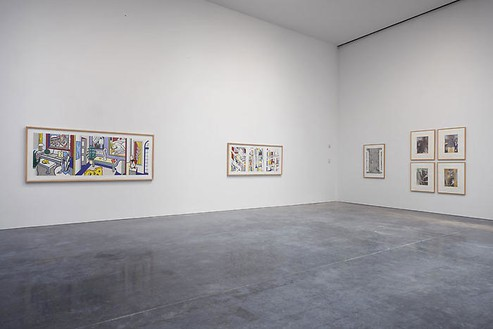 Retrospective Installation view