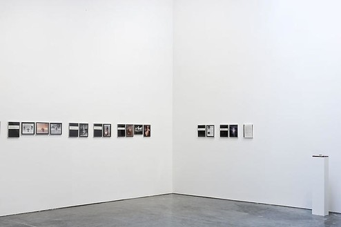 Chris Burden Retrospective installation view