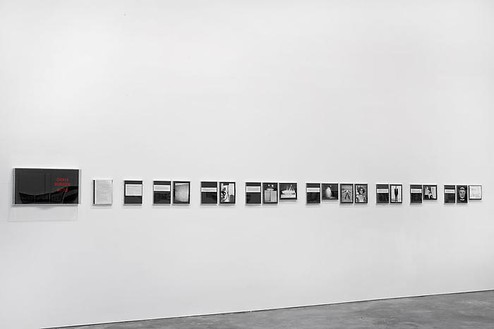 Chris Burden, Chris Burden Deluxe Photo Book, 1974 (view 2) 75 photos framed with hand painted cover, 12 × 12 inches each (30.5 × 30.5 cm), edition of 50