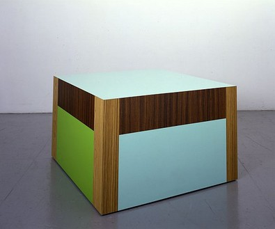 Richard Artschwager, Table (Whatever), 2007 Formica on wood, 30 × 48 × 53 inches (76.2 × 121.9 × 134.6 cm)