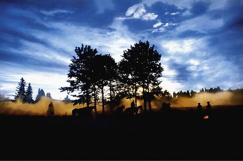 Richard Prince, The Blue Cowboys, 1999 4 Ektacolor photographs, 59 ¼ × 83 ¼ inches framed each (150.5 × 211.5 cm), edition of 2