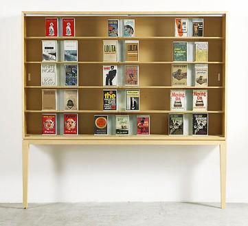Richard Prince, Untitled (Original), 2008 Furniture, books, sintra and bondo, 85 × 88 ¼ × 13 ¼ inches (216 × 224 × 33.5 cm)