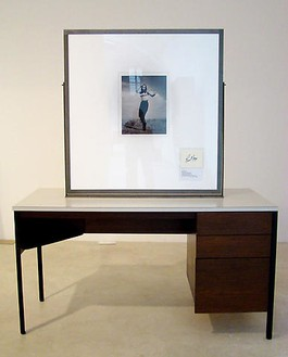 Richard Prince, Untitled (Original), 2008 Furniture with double sided frame, 66 × 54 × 24 inches (167.6 × 137.2 × 61 cm)