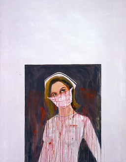 Richard Prince, Untitled (Nurse), 2006 Acrylic and inkjet on canvas, 60 × 48 inches (152.4 × 121.9 cm)