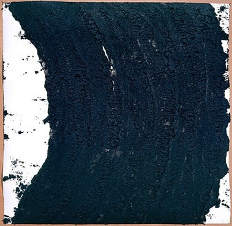 Richard Serra, Untitled, 2007 Oilstick on paper, 40 × 40 inches (101.6 × 101.6 cm)