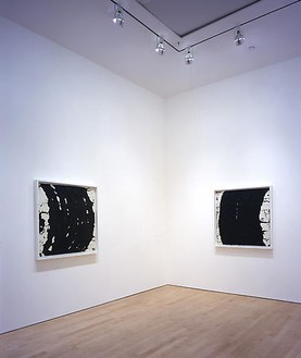 Richard Serra: Five Drawings Installation view, photo by Douglas M. Parker Studio