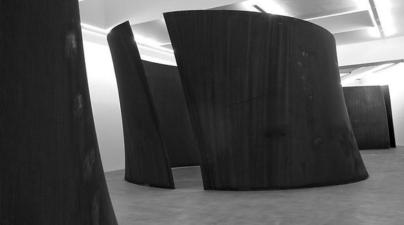 Richard Serra, TTI London, 2007 Weatherproof steel, 2 torqued toruses, each: 168 × 332 × 420 inches overall (426.7 × 843.3 × 1066.8 cm)Photo by Joshua M. White