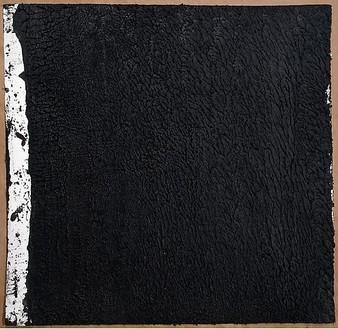 Richard Serra, Solid #20, 2008 Paintstick on handmade paper, 40 × 40 inches (101.6 × 101.6 cm)© Richard Serra