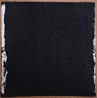 Richard Serra, Solid #12, 2008 Paintstick on handmade paper, 40 × 40 inches (101.6 × 101.6 cm)© Richard Serra