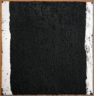 Richard Serra, Solid #26, 2008 Paintstick on handmade paper, 40 × 40 inches (101.6 × 101.6 cm)© Richard Serra