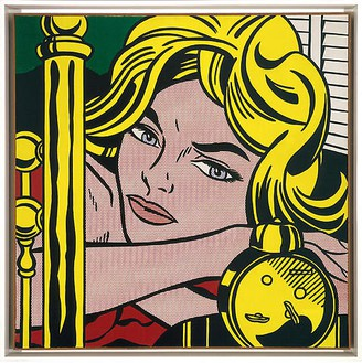 Roy Lichtenstein, Blonde Waiting, 1964 Oil and Magna on canvas, 48 × 48 inches (121.9 × 121.9 cm)© Estate of Roy Lichtenstein