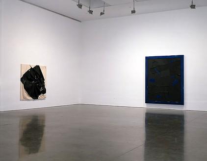 Yayoi Kusama, Steven Parrino, Anselm Reyle Installation view