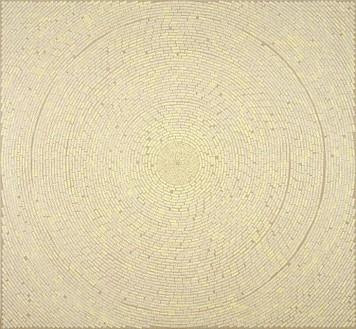 Y. Z. Kami, Rumi-The Book of Massnavi E Manavi III, 2007 Mixed media on linen, 90 × 99 inches (228.6 × 251.5 cm)