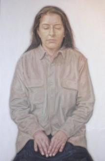 Y. Z. Kami, Untitled (Marina I), 2007 Oil on canvas, 98 × 64 inches (248.9 × 162.6 cm)