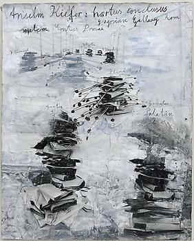 Anselm Kiefer: hortus philosophorum, Rome