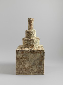 Cy Twombly, Untitled (The Mathematical Dream of Ashurbanipal), 2000–09 Bronze, 41 ⅛ × 20 ⅞ × 21 ⅜ inches (104.5 × 53.1 × 54.2 cm), cast 3/3© Cy Twombly Foundation