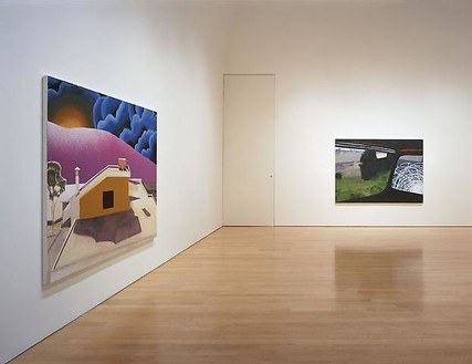 Dexter Dalwood: Endless Night Installation view, photo by Douglas M. Parker Studio