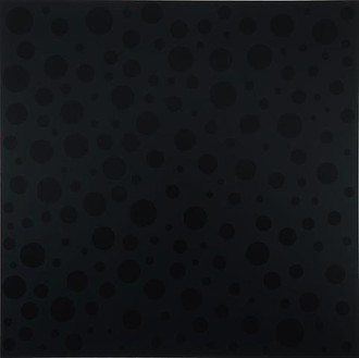 Yayoi Kusama, INFINITE-NOTHINGNESS, 2008 Urethane on canvas, 76 ⅜ × 76 ⅜ inches (194 × 194 cm)