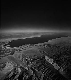 Florian Maier-Aichen, Salton Seas (I), 2008 Chromogenic print, 99 ⅜ × 88 ¼ inches framed (252.4 × 224.2 cm), edition of 6