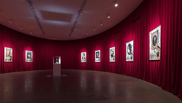 GREED, A New Fragrance by Francesco Vezzoli Installation view, photo by Matteo Piazza