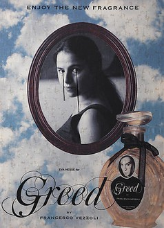 Francesco Vezzoli, Enjoy The New Fragrance (Eva Hesse for Greed), 2009 Inkjet, wool, cotton, metallic embroidery and custom jewelry on brocade, 70 ⅞ × 51 3/16 inches (180 × 130 cm)