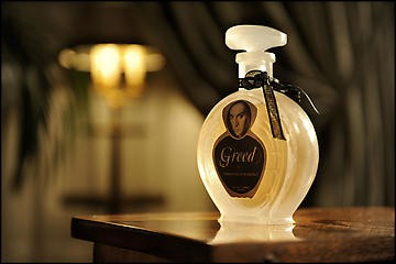 GREED, A New Fragrance by Francesco Vezzoli, Rome