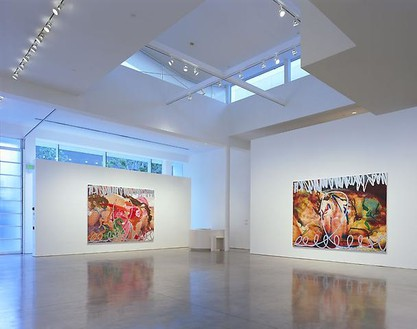 Installation view Artwork © Jeff Koons. Photo: Douglas M. Parker Studio