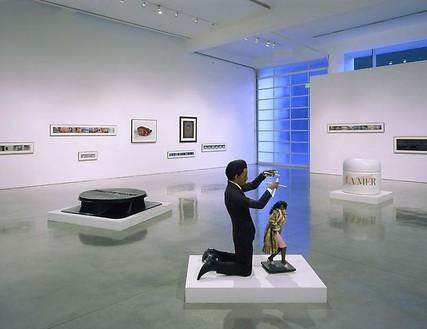 John Waters: Rear Projection Installation view, photo by Douglas M. Parker Studio