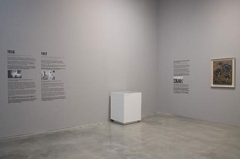 MANZONI: A Retrospective Installation view