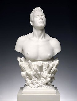 Jeff Koons, Self-Portrait, 1991 Marble, 37 ½ × 20 ½ × 14 ½ inches (95.2 × 52.1 × 36.8 cm), edition of 3