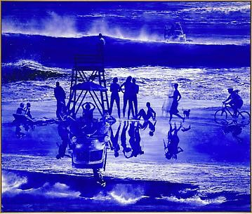 Mark Tansey, Britannia Street, London