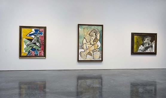 Pablo Picasso: Mosqueteros Installation view