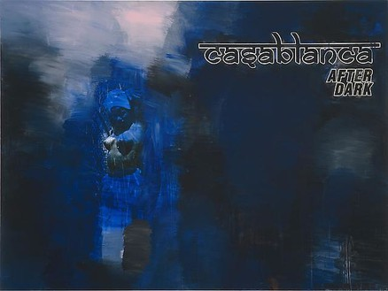 Richard Prince, Untitled (Casablanca After Dark), 2009 Inkjet and acrylic on canvas, 50 × 79 inches (149.9 × 200.7 cm)