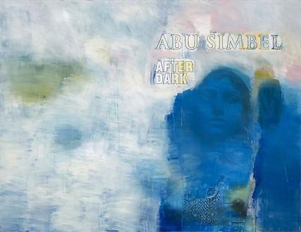 Richard Prince, Untitled (Abu Simbel After Dark), 2009 Inkjet and acrylic on canvas, 66 × 86 inches (167.6 × 218.4 cm)