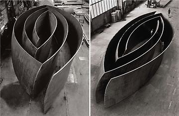 Richard Serra: Blind Spot / Open Ended, West 21st Street, New York